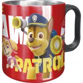 Alu hrnek Paw Patrol červený