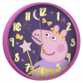 EUROSWAN Hodiny Peppa Pig Plast, 24 cm