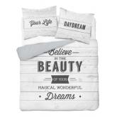 DETEXPOL Francouzské povlečení Beauty  Bavlna, 220/200, 2x70/80 cm