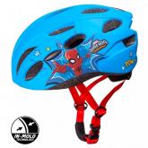 SEVEN Dětská cyklo přilba in mold Spiderman , vel. M, 52-56 cm