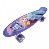 SEVEN Skateboard fishboard Ledové Království lila PP tvrzený polypropylen, 1x 55x14,5x9,5 cm
