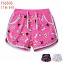 KUGO M2085 dívčí šortky / kraťasy 116-146