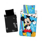 JERRY FABRICS Povlečení Mickey Happy svítící  Bavlna, 140/200, 70/90 cm