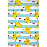 HALANTEX Fleece deka Pokémon Pikachu  Polyester, 130/170 cm