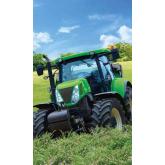 DETEXPOL Dětský ručník Traktor zelený  Bavlna - Froté, 50/30 cm