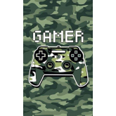 DETEXPOL Dětský ručník Gamer Army  Bavlna - Froté, 50/30 cm