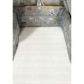 SDS Mantinel do postýlky Zvířátka modrá  Bavlna, výplň: Polyester, 195/28 cm