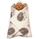 SDS Rychlozavinovačka pro panenky Ježeček Bavlna, výplň: Polyester, 1x 60x60 cm