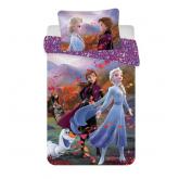 JERRY FABRICS Povlečení do postýlky Ledové Království 2 Wind baby Bavlna, 100/135, 40/60 cm