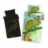 JERRY FABRICS Povlečení Chameleon svítící  Bavlna, 140/200, 70/90 cm