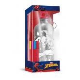 EUROSWAN ALU láhev s víčkem Spiderman k domalování Hliník, Plast, 500 ml