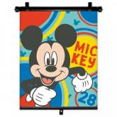 SEVEN Sluneční clona Roletka Mickey Happy  Plast, Polyester, 1 ks