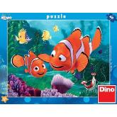 DINO Puzzle Hledá se Nemo 32x24cm set 40 dílků