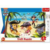 TREFL Puzzle deskové Tlapková Patrola piráti 33x23