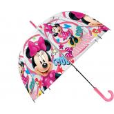 EUROSWAN Průhledný deštník Minnie POE, průměr 70 cm