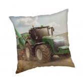 JERRY FABRICS Povlak na polštářek Traktor green  Polyester, 40/40 cm