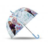 EUROSWAN Vystřelovací průhledný deštník Ledové Království  POE, 2 cm
