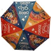 EUROSWAN Vystřelovací deštník Paw Patrol Choose Polyester, průměr 85 cm