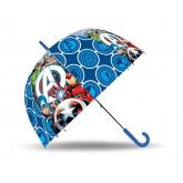 EUROSWAN Vystřelovací průhledný deštník Avengers POE, průměr 70 cm