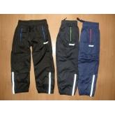 Šusťákové kalhoty WOLF slabé T2561 podšité bavlnou 98-134