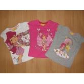 Dívčí tričko JAHŮDKA s krátkým rukávem EN1292 vel.98-128